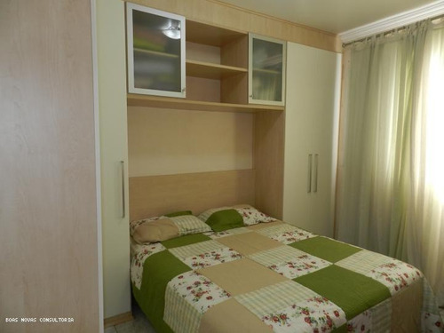 Apartamento Para Venda Em Guarulhos, Picanço, 2 Dormitórios, 1 Banheiro, 1 Vaga - 000414_1-672792
