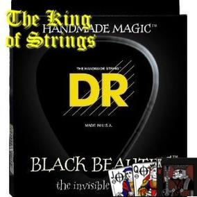 Encordoamento Preto P/ Baixo 5 Cordas Dr Black Beauties .45