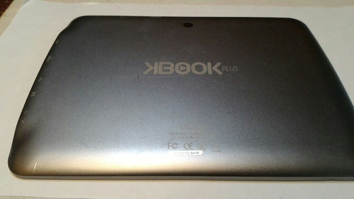 Tapa Trasera Tablet Kalley K-book Plus 2 En Aluminio