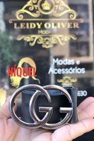 af992415787f9d Cinto Preto Feminino - Cintos para Feminino Gucci com o Melhores ...
