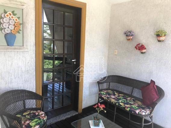 Casa Com 2 Dormitórios À Venda, 79 M² Por R$ 380.000,00 - Sape - Niterói/rj - Ca1391