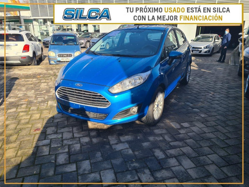 Ford Fiesta Hatch Se 2017 Azul 5 Puertas