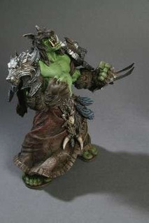 World Of Warcraft: Orc Shaman Rehgar Figura De Acción De La