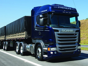 Scania R 440 6x4 Highline Com Rodotrem Ano 2017 0km