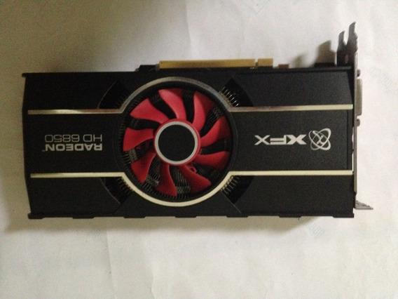 Placa De Video Xfx Radeon Hd 6850 1gb Gddr5 C\ Defeito