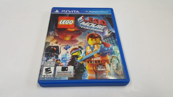 Lego The Lego Movie Video Game - Ps Vita - Original