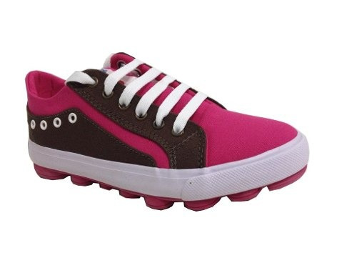 Tenis Super Star Confort Ciara Pink Marrom Chocolate