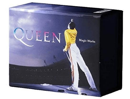 Box Queen Magic Works - Contem Cd, Dvd, Livro E Camiseta G