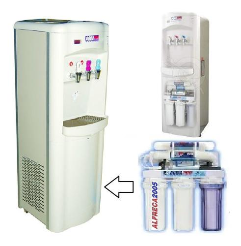 Dispensador Osmosis Inversa Agua Caliente Fria Y Natural Aqp