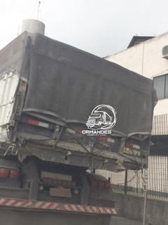 Lona Tela Proteção Caminhão Caçamba Apara Preta 8x4 + Brinde