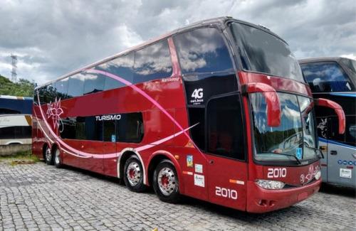 Ônibus Marcopolo Paradiso 1800 Dd Scania K 420 8x2 Turismo