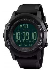 Relógio Skmei 1321 Bluethooth Pedômetro Envio Imediato