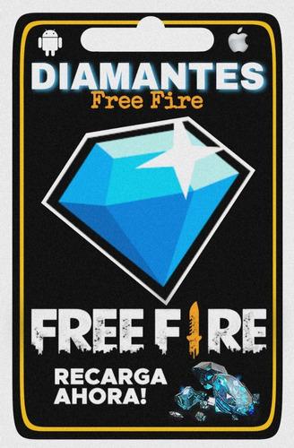 1060 Diamantes + 106 Bonus | Free Fire | Entrega Inmediata
