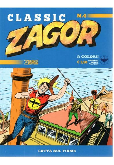 Zagor Classic 4 - Sbe 04 - Bonellihq Cx253 I19