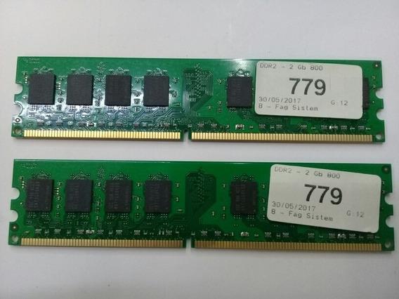4 Gb Memoria Ddr2 800 Mhz