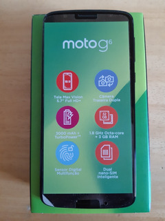 Moto G6 Xt1925r Dual Sim Indigo