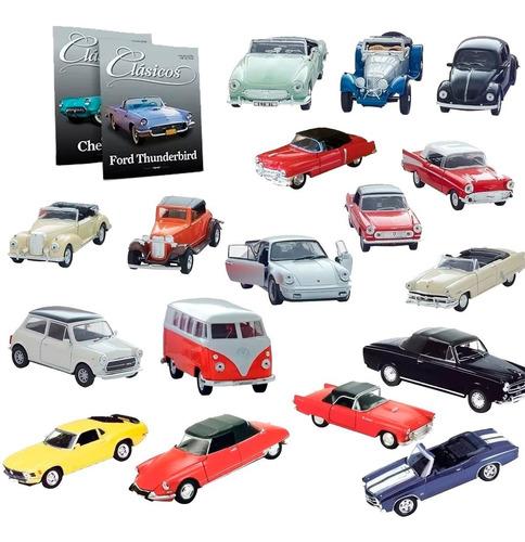 Clarín Colección De 17 Autos Clásicos
