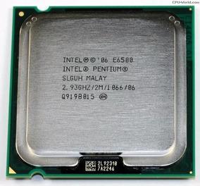 Processador Pentium E6500 / 2,93ghz / Socket 775