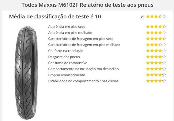 Pneu Moto 275-18 Dianteiro Ybr125 Cg150 M6102f