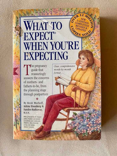 Libro What To Expect When Youre Expecting Inglés