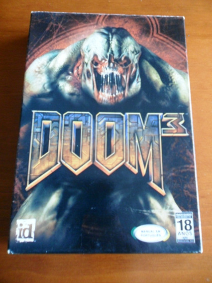 Pc Game -doom 3 Pc-cd Original (não É Steam)