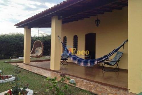 Chácara Com 3 Dormitórios À Venda, 1100 M² Por R$ 500.000,00 - Condomínio Sítio Da Moenda - Itatiba/sp - Ch0028