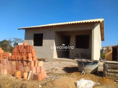 Imagem 1 de 16 de Casa Com 2 Dormitórios À Venda, 68 M²  - Jacaroá - Maricá/rj - Ca4942