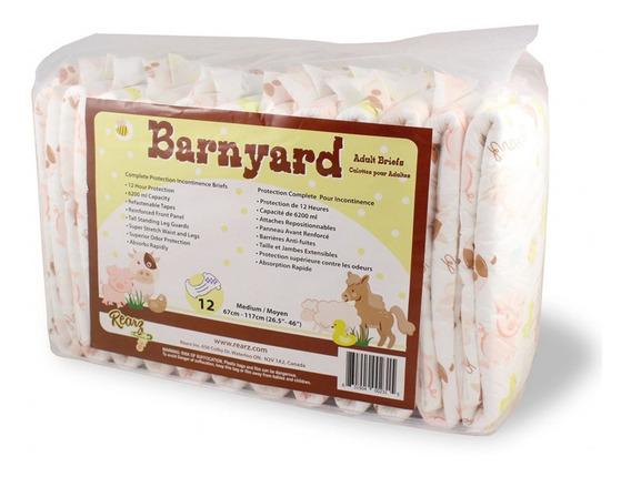 Rearz Barnyard Mediano (pañales Abdl Para Adultos)
