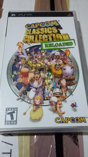 Capcom Clasic Collection Para Psp