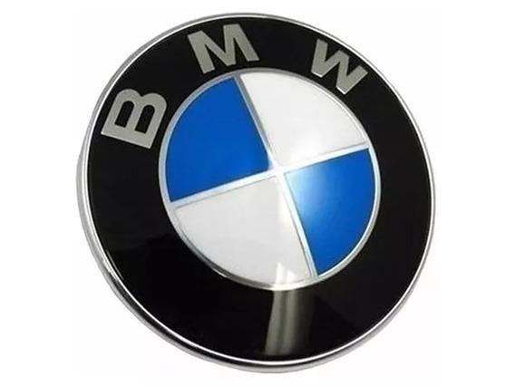 Emblema Bmw 82mm Capô Porta Malas Series 3 5 7 8 X5 Z3 X6