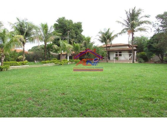 Linda Chácara, Com Uma Casa 3 Dormitórios, 1262 M² - Chácaras De Recreio - 2000 - Hortolândia/sp - Ch0018