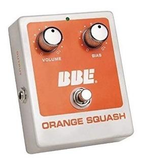 Pedal De Guitarra Bbe Orange Squash Compresor
