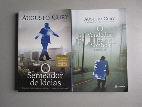 2 Livros De Augusto Cury / Academia
