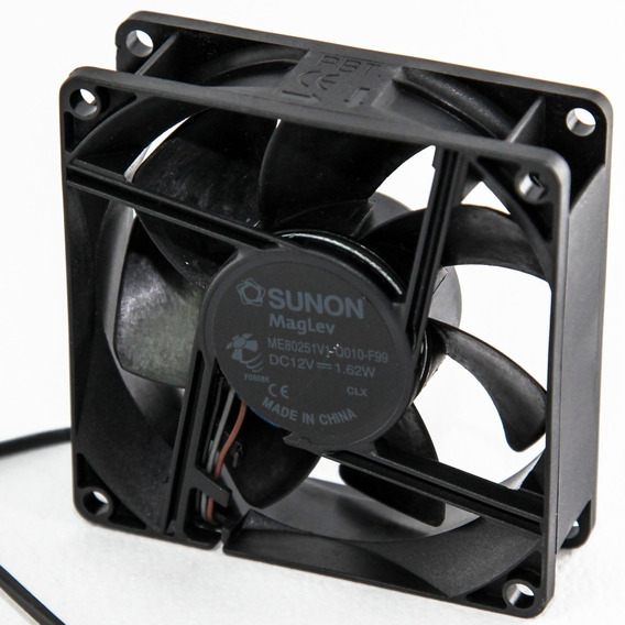 Cooler Fan Sunon 12v 80x80x25mm Magnetica C/ Control 1° Htec