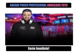 Akkari Curso De Poker Profissional Avançado 2019