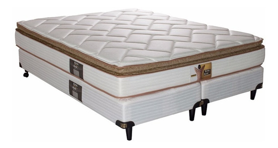 Colchón + Sommier King Koil Finesse 180 X 200 + 2 Almohadas