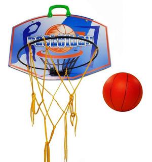 Aro Basket Basquet Con Tablero + Pelota Infantil O F E R T A