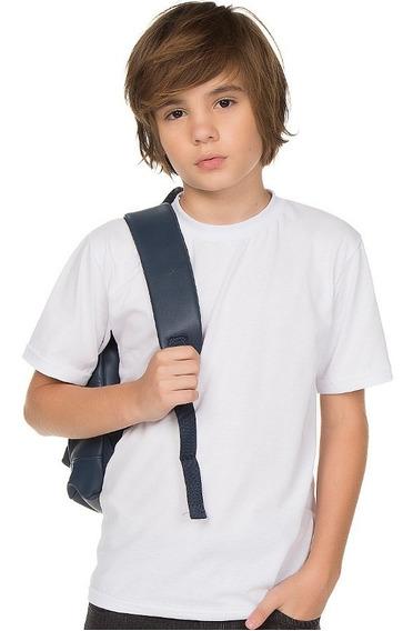 Kit 4 Camisetas Meia Manga Escolar Para Menino Isensee