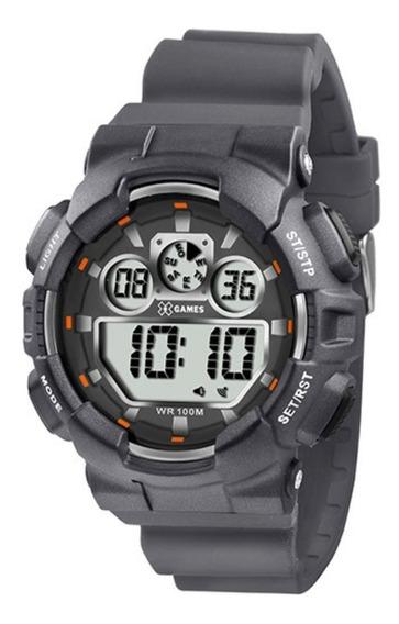 Relógio Digital X Games Xmppd343 - Masculino Original Cinza