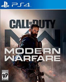 Ps4 Preventa Call Of Duty Modern Warfare
