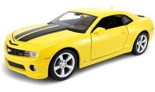 Carro Miniatura Chevrolet Camaro Ss Rs 1:24 Amarelo Maisto