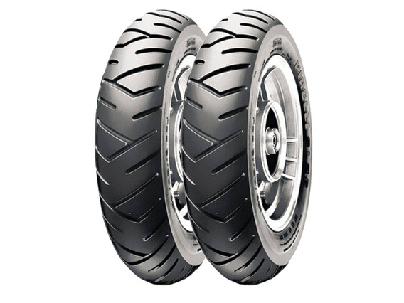 Par De Pneus Pirelli 130/60-13 Sl26 Para Kasinski Prima