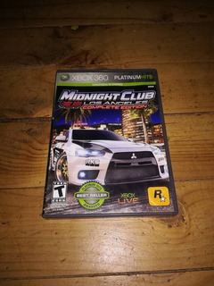 Midnight Club Los Angeles Xbox 360 Original Usado