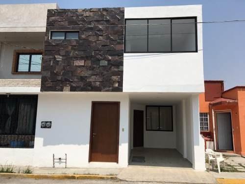 Casas Grande Y Muy Hermosa En Venta En San José Xilotzingo