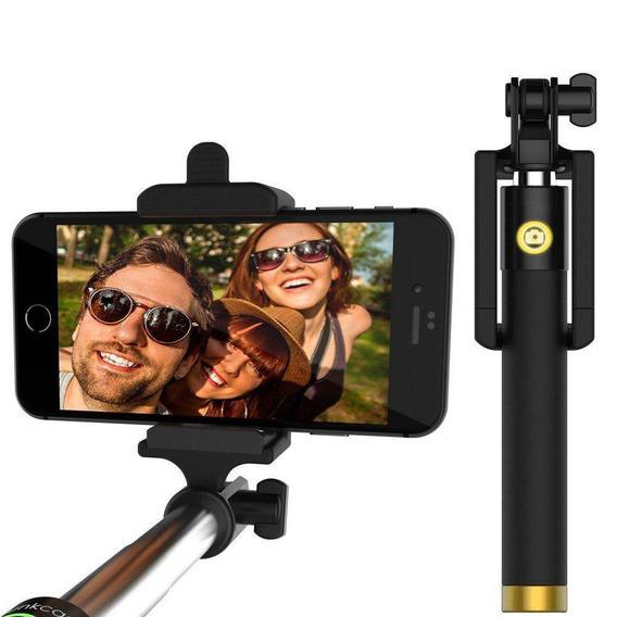 Kit Com 5 Pau De Selfie Bastão Monopod Para Celular