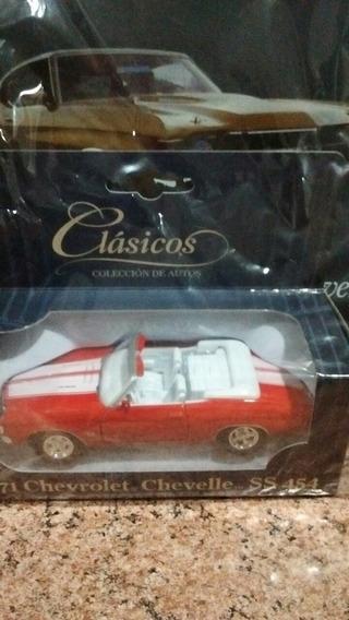 Colección Autos Clásicos Chevrolet Chevelle Sin Abrir!!