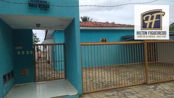 Vendo Casa Em Condomínio Fechado Em Água Fria, 62 M² Por R$ 115.000 - João Pessoa/pb (aceita Permuta) - Ca0770