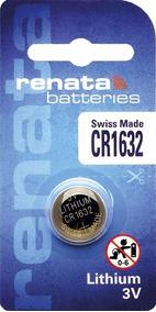 Pilha Bateria Cr1632 Renata Suiça Original P/ Tissot Touch