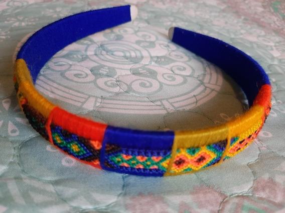 Diadema De Hilo Multicolor Para Niña