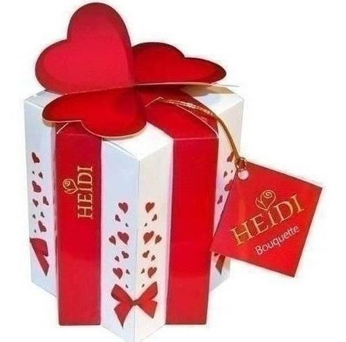 Imagen 1 de 1 de Bombones Chocolate Avellana Heidi Corazón 140g / Superstore